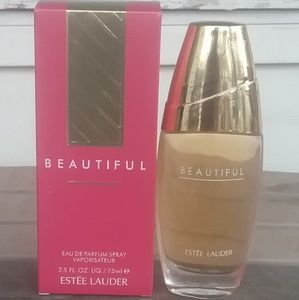Brand New Estee Lauder Beautiful 2.5oz Never Open